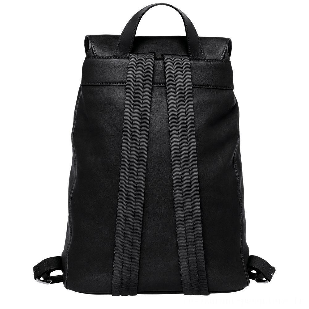 [Vente] - Longchamp 3D Sac à dos L - Noir
