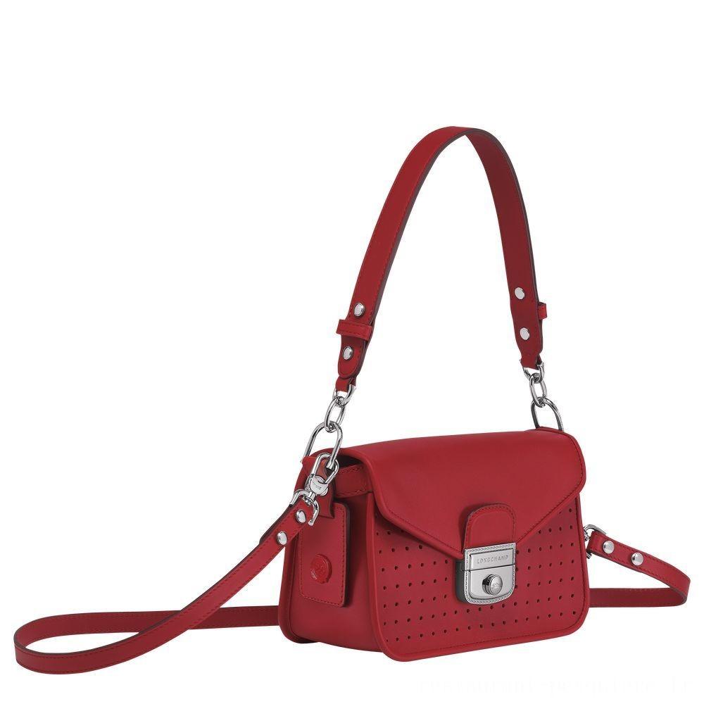 [Vente] - Mademoiselle Longchamp Sac porté épaule - Grenat