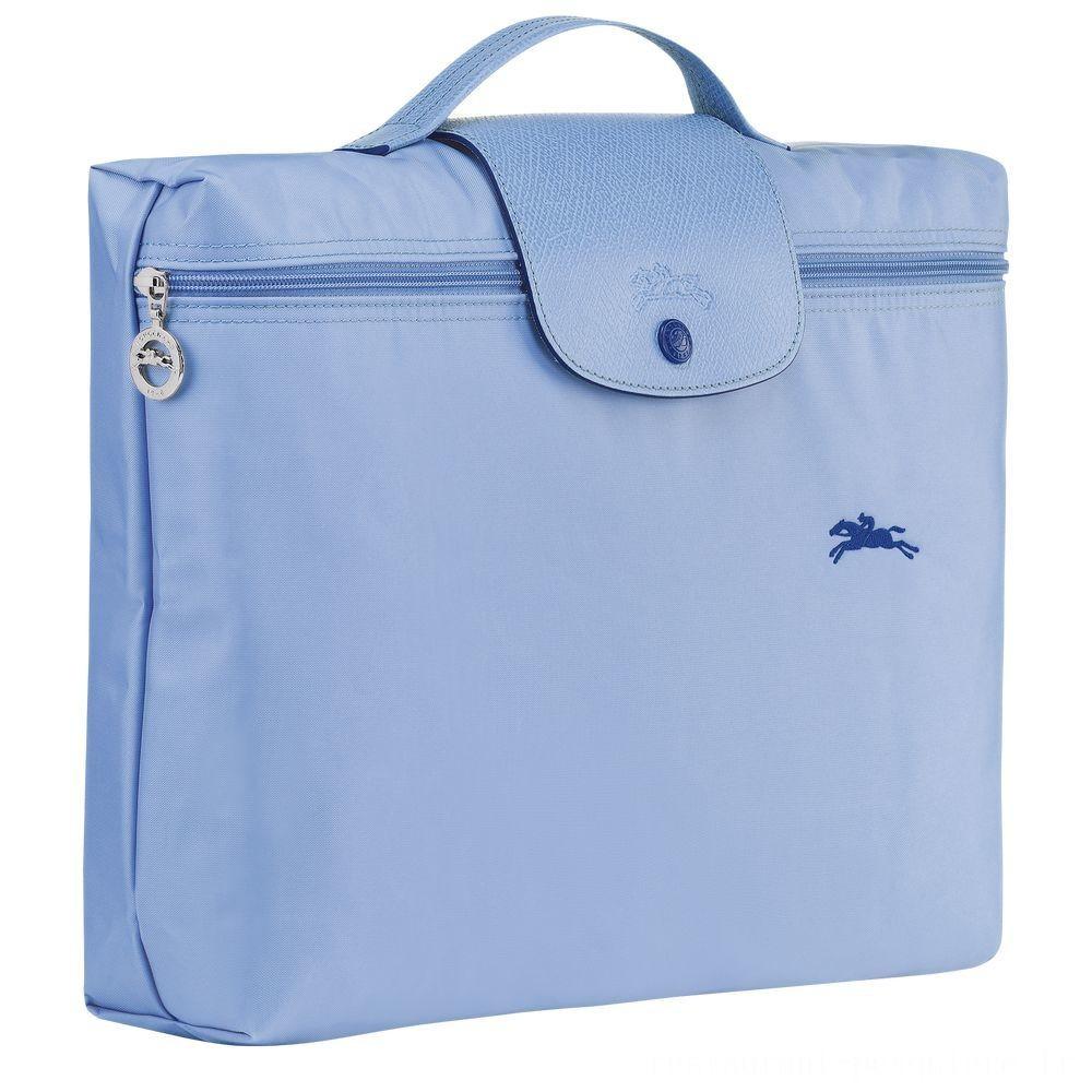 Le Pliage Club Porte-documents - Bleu Pas Cher
