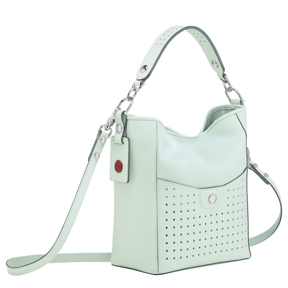 [Vente] - Mademoiselle Longchamp Petit sac seau - Céladon