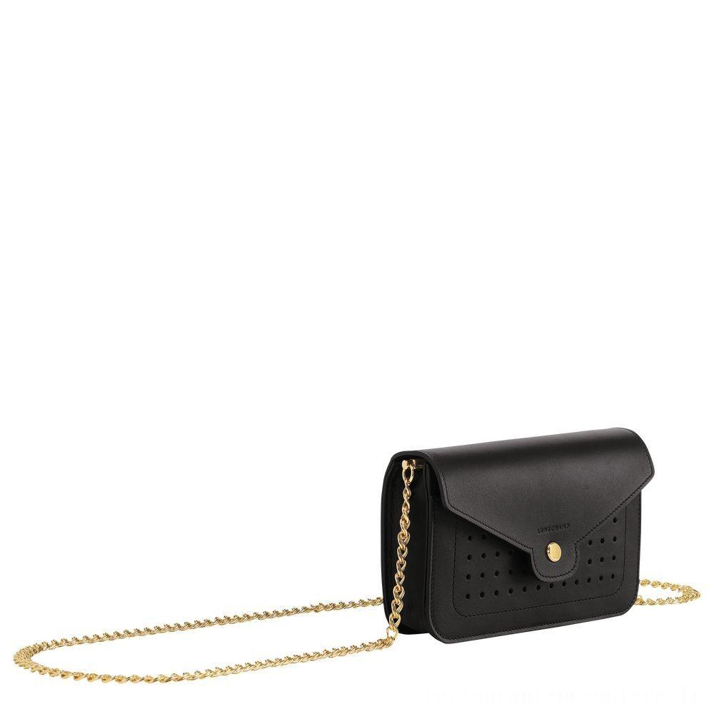 [Vente] - Mademoiselle Longchamp Pochette chainette - Noir