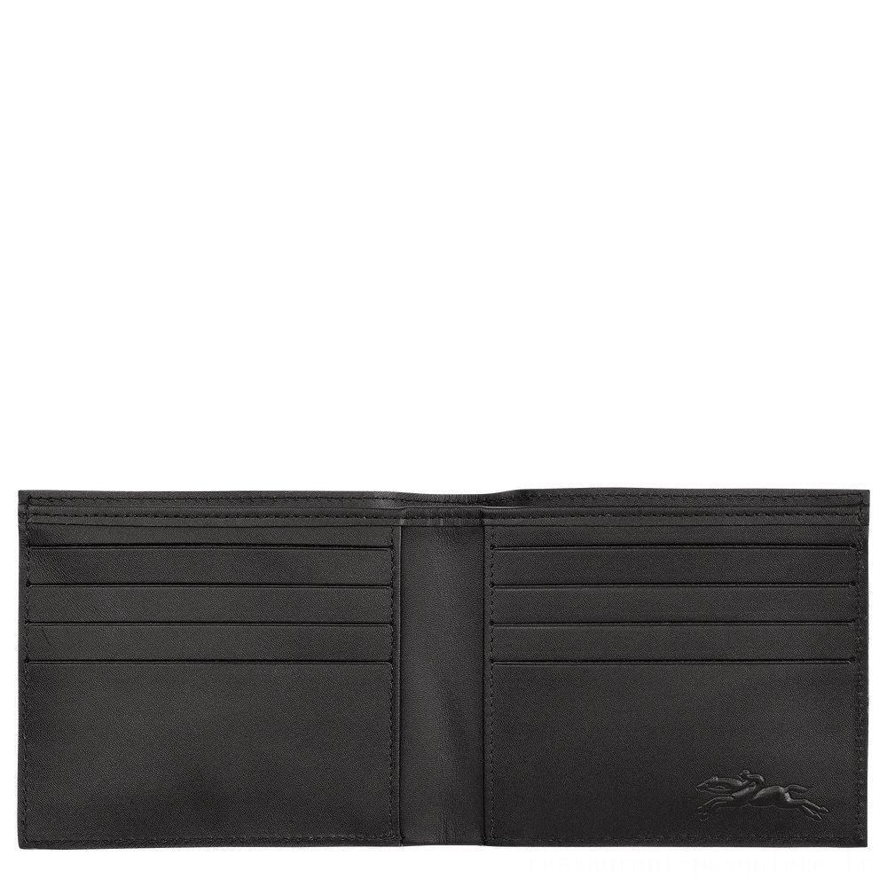 [Soldes] - Le Pliage LGP Portefeuille - Noir/Kaki