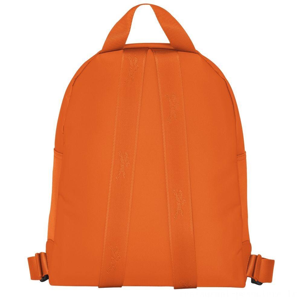 Le Pliage Néo Sac à dos - Orange Pas Cher