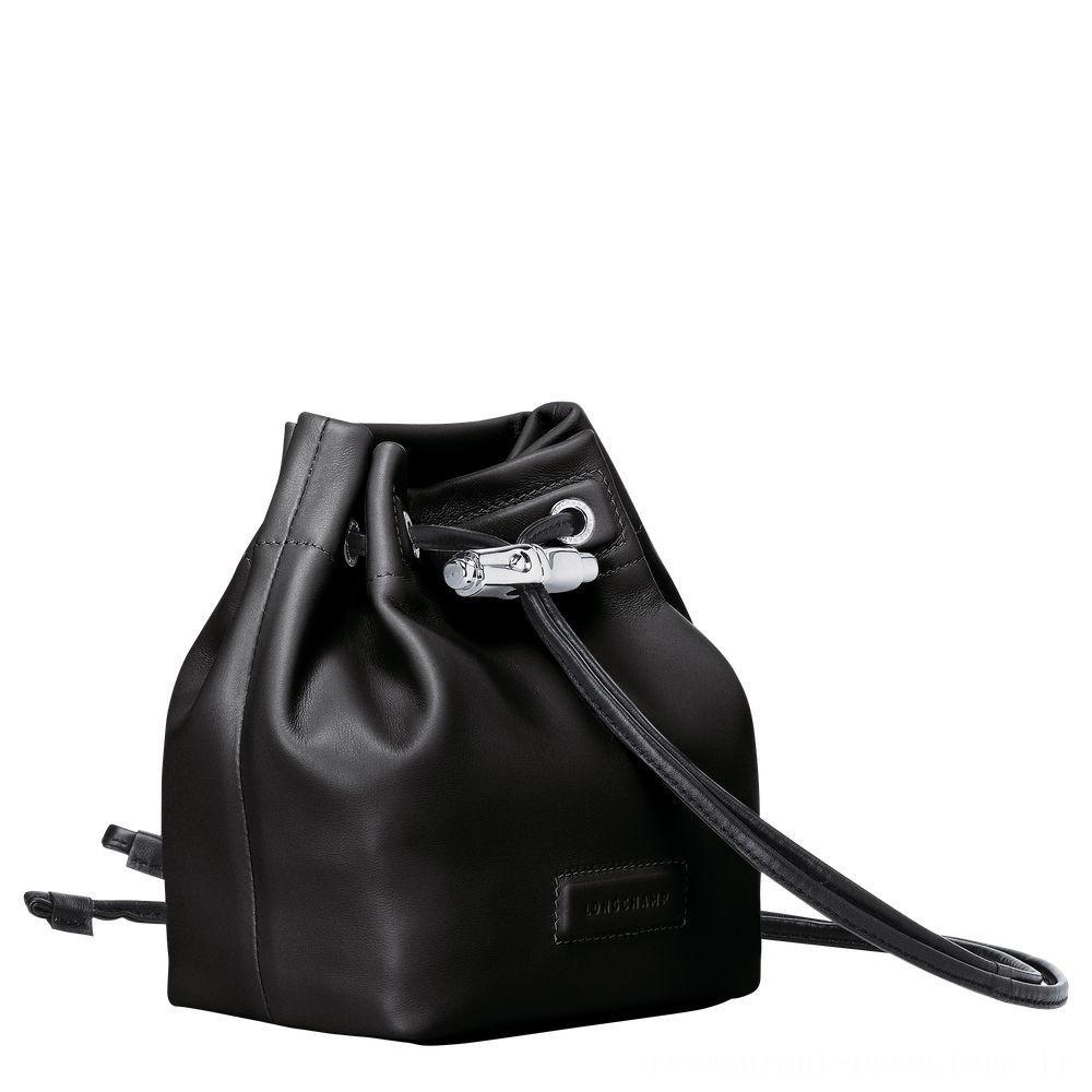 Roseau Mini sac seau - Noir Soldes