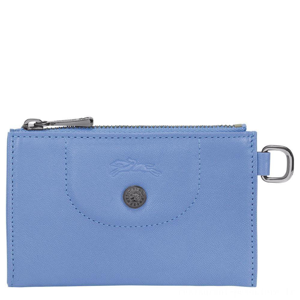 [Soldes] - Le Pliage Cuir Etui clés - Bleu