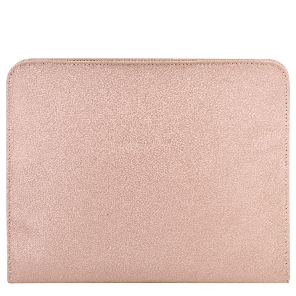 [Soldes] - Le Foulonné Étui iPad® - Poudre