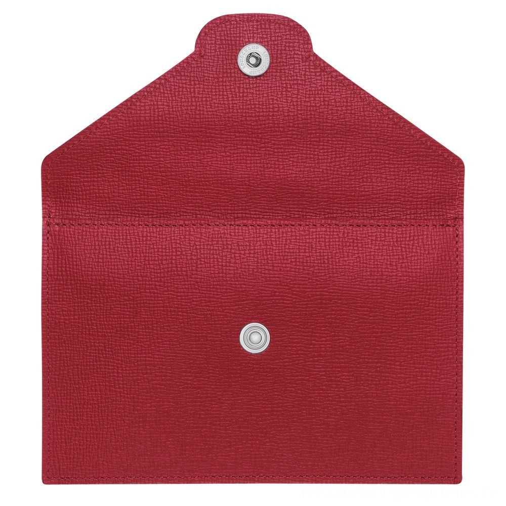 Le Pliage Néo Porte-cartes - Rouge Soldes