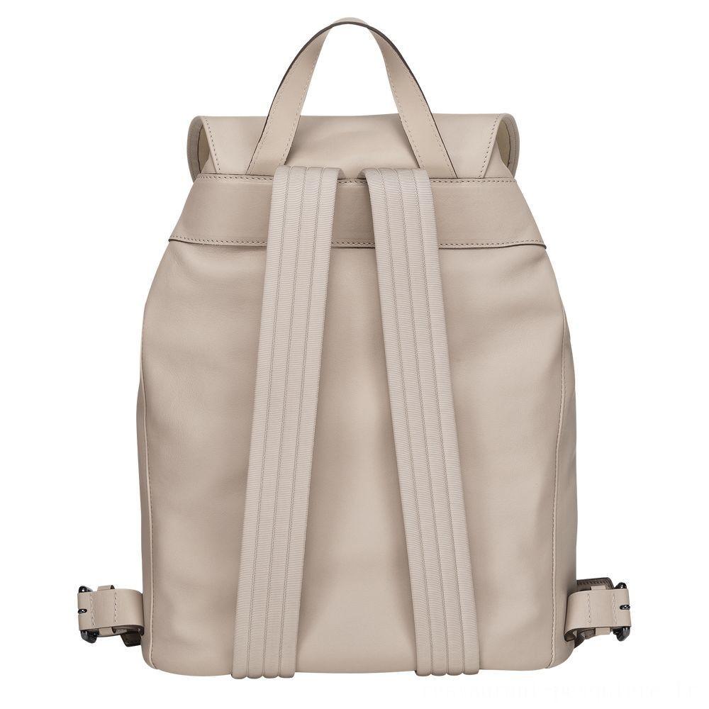Longchamp 3D Sac à dos - Argile Pas Cher