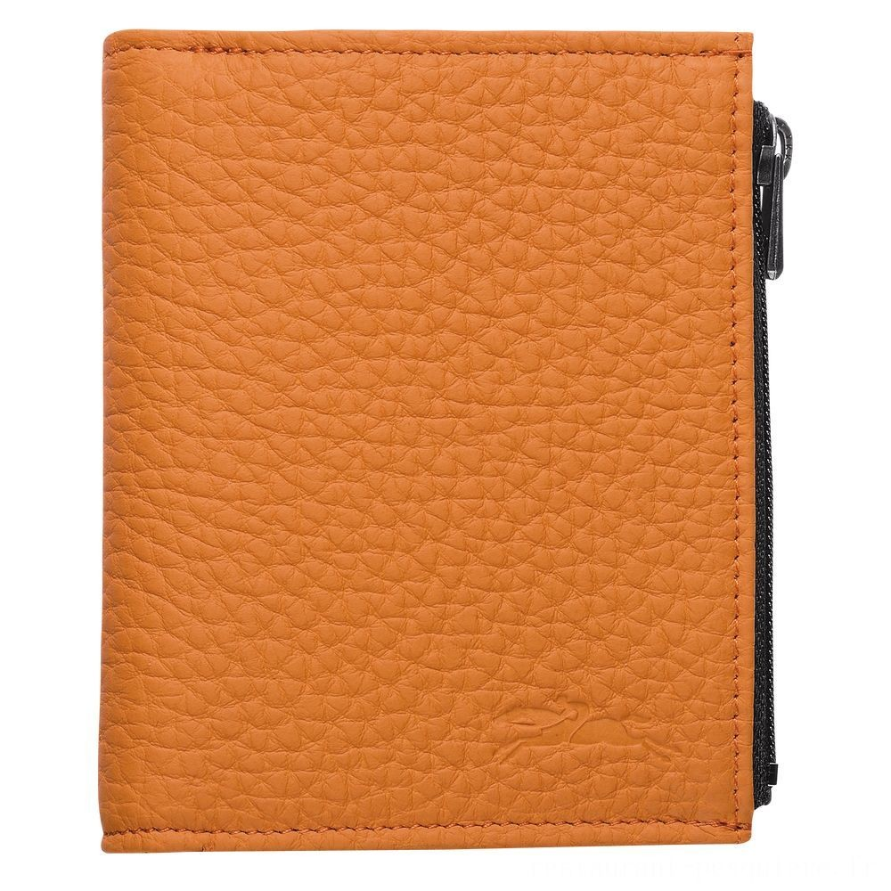 Essential Portefeuille compact - Orange Pas Cher