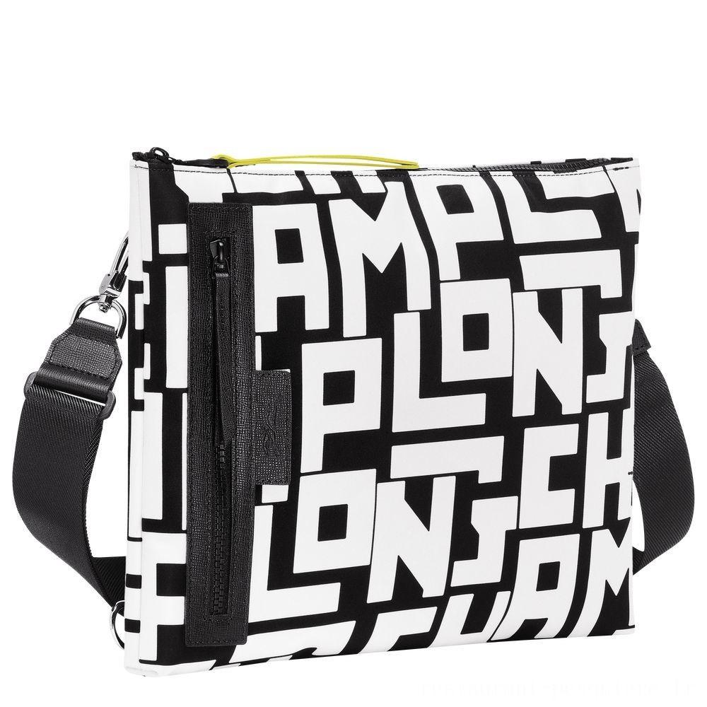 [Vente] - Le Pliage LGP Pochette multiporté - Noir/Blanc