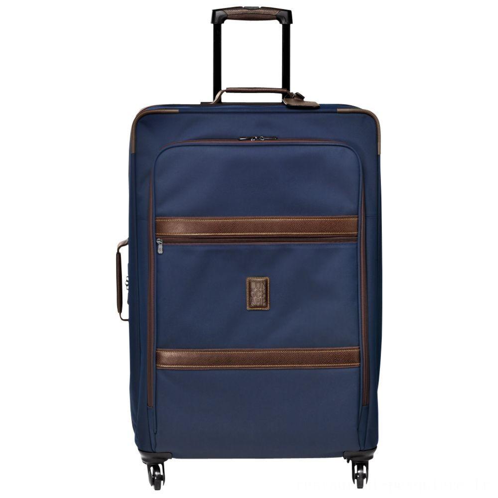[Vente] - Boxford Valise à roulettes L - Bleu