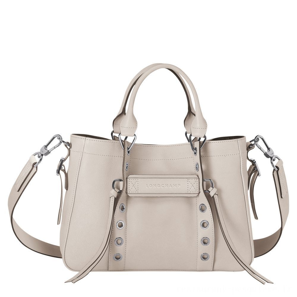 Longchamp 3D Sac porté main - Argile Soldes