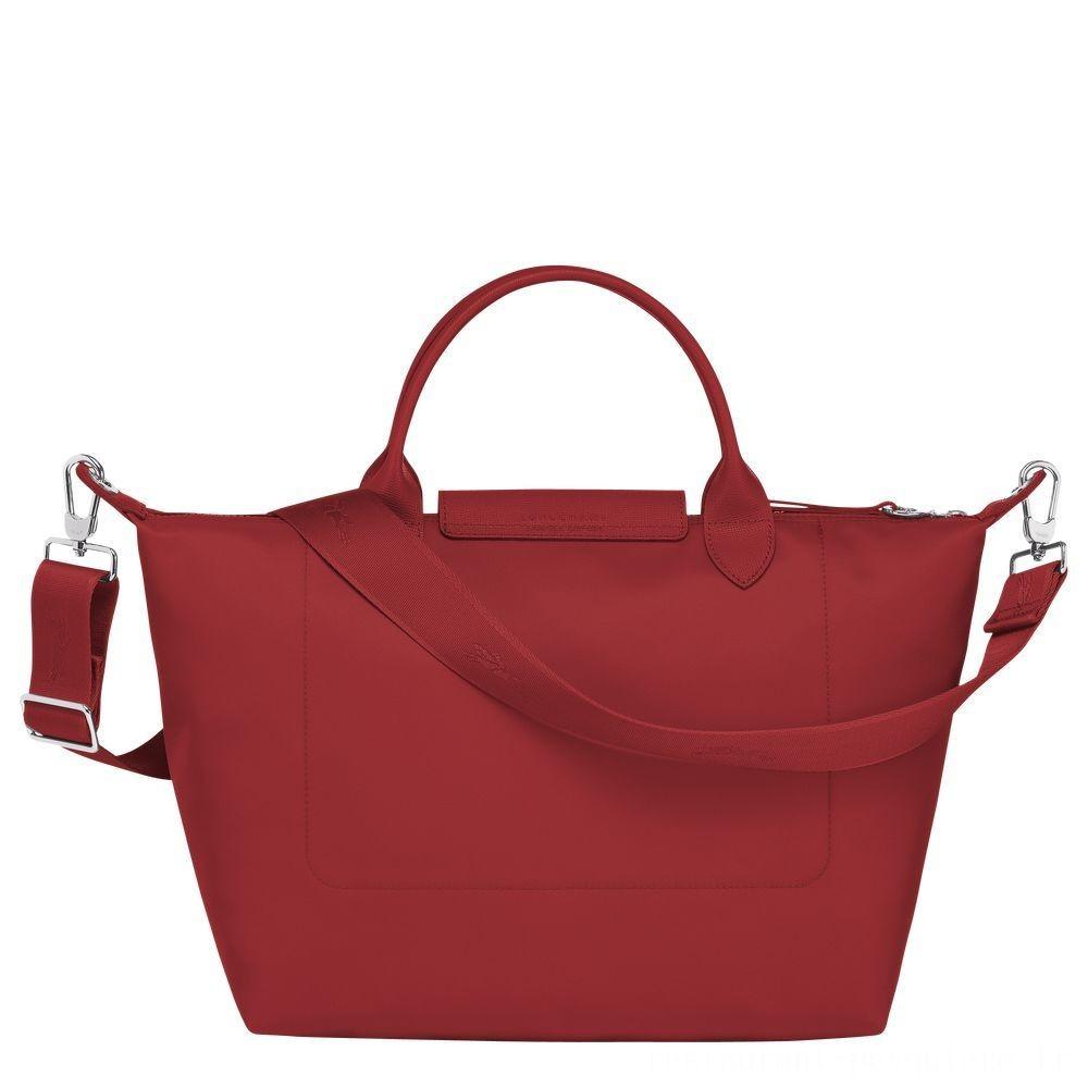 [Soldes] - Le Pliage Néo Sac porté main - Rouge