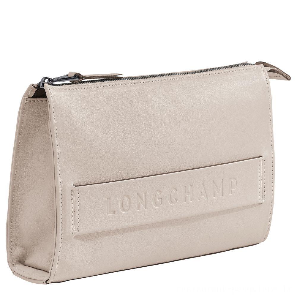 Longchamp 3D Etui high-tech - Argile Soldes