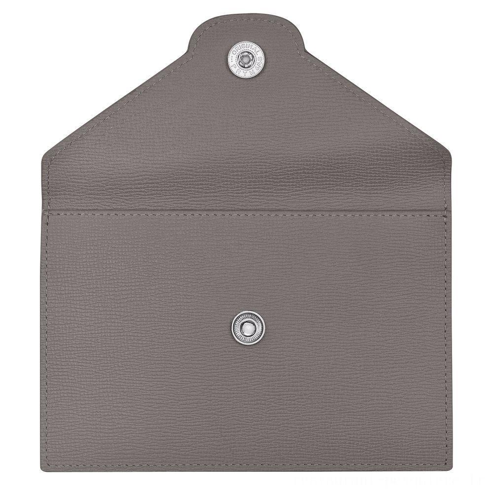 Le Pliage Néo Porte-cartes - Ciment Pas Cher