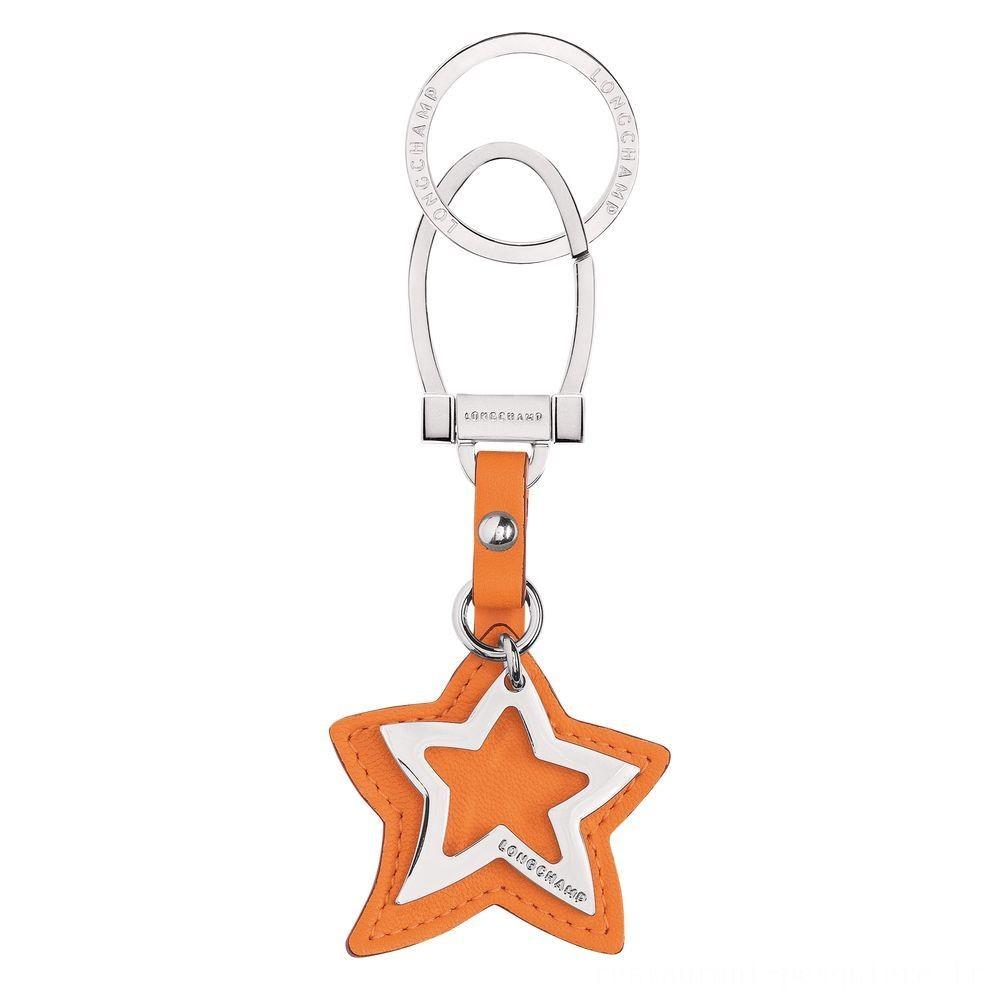 [Vente] - Le Pliage Cuir Porte-clés - Orange