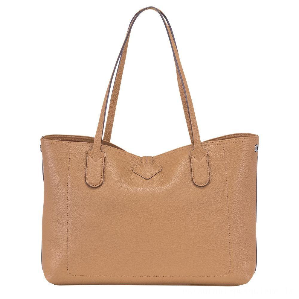 [Soldes] - Roseau Sac shopping M - Naturel