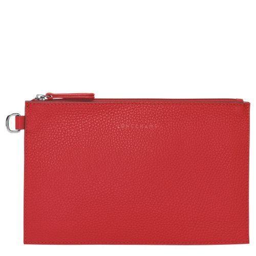 [Soldes] - Roseau Sac porté main S - Rouge Laque