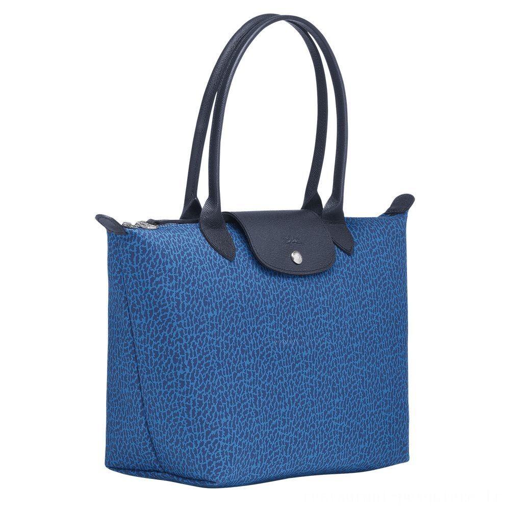 [Vente] - Le Pliage Sac porté épaule - Bleu