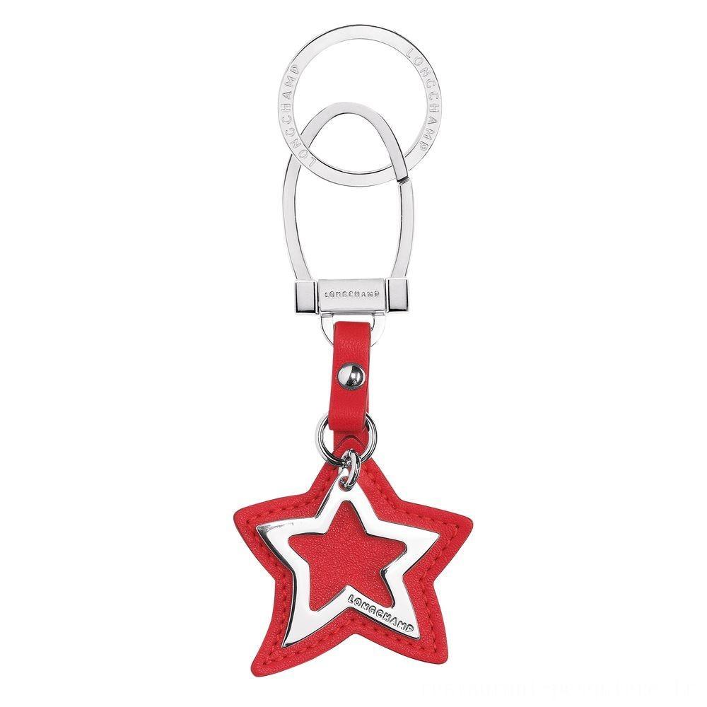 [Soldes] - Le Pliage Cuir Porte-clés - Rouge