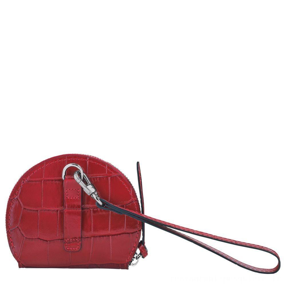 Cavalcade Porte-monnaie - Rouge Pas Cher