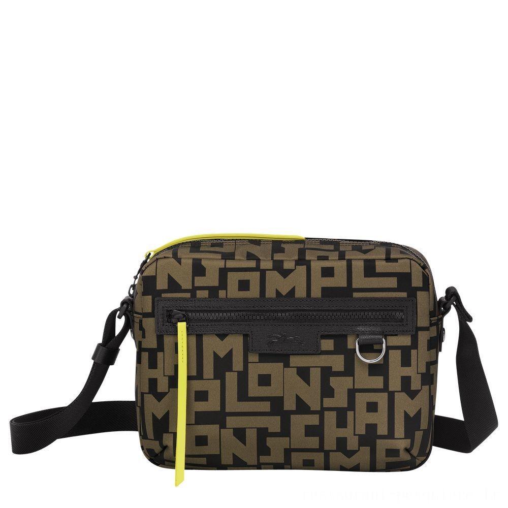 [Vente] - Le Pliage LGPCamera bag M - Noir/Kaki