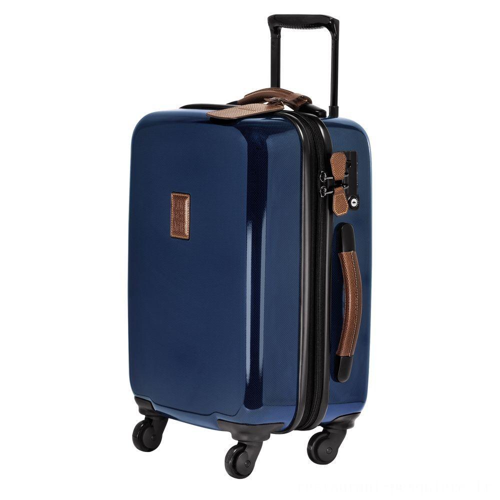 Boxford Valisette à roulettes - Bleu Pas Cher