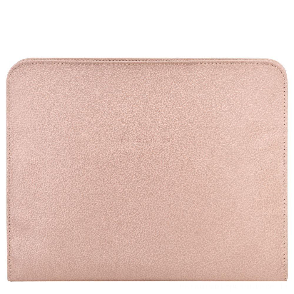Le Foulonné Étui iPad® - Poudre Soldes