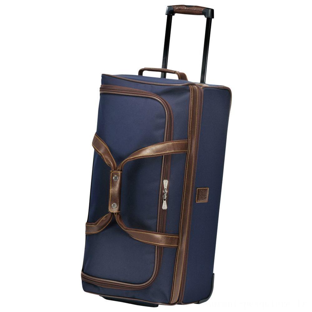 [Soldes] - Boxford Sac de voyage à roulettes M - Bleu
