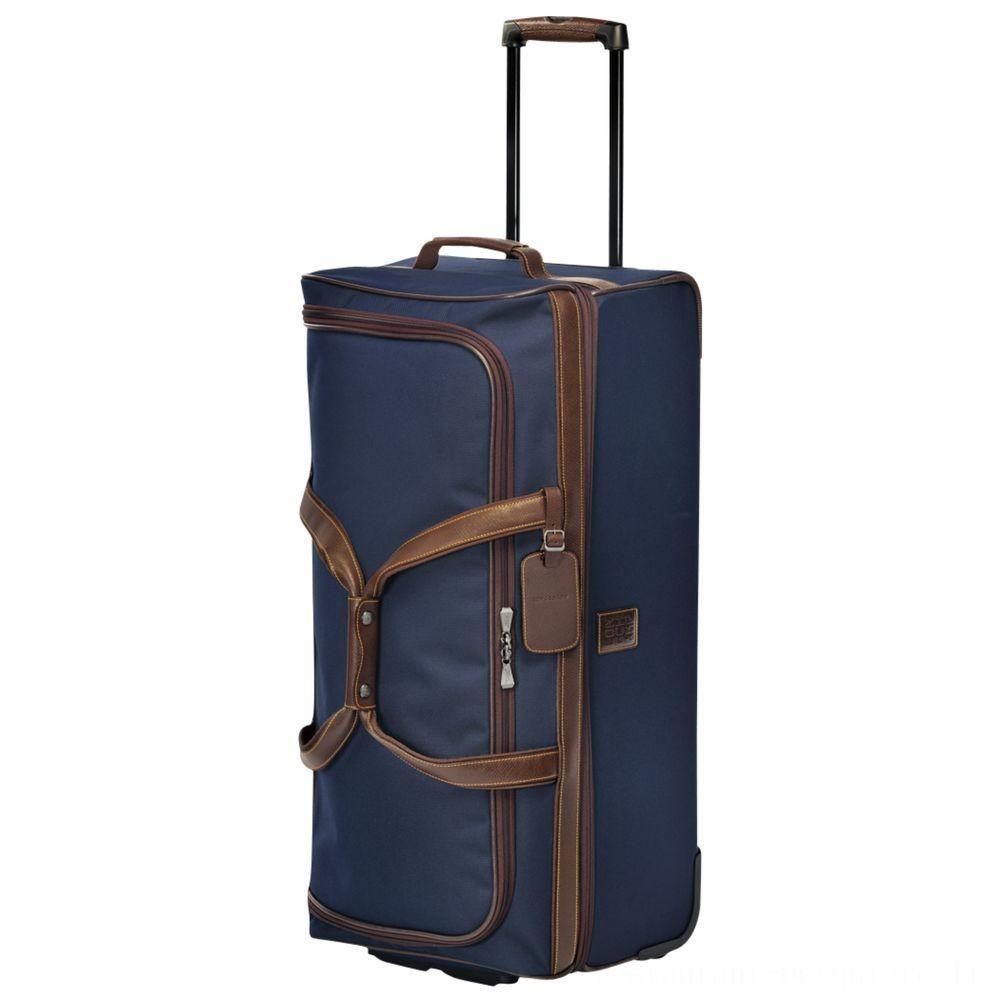 Boxford Sac de voyage à roulettes L - Bleu Pas Cher