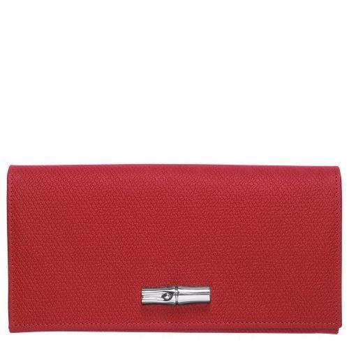 [Soldes] - Roseau Sac porté main M - Rouge Laque