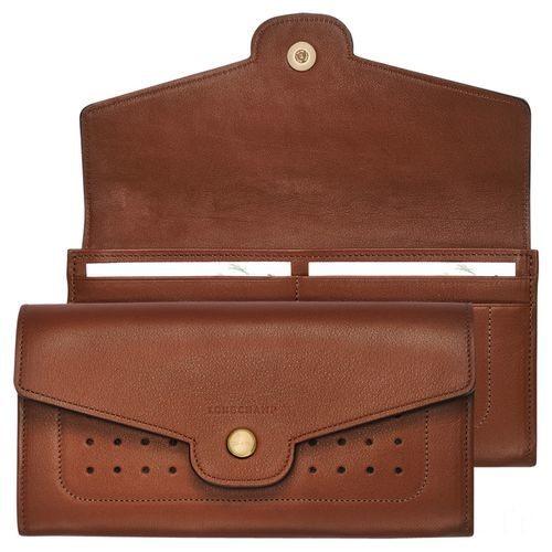 [Soldes] - Mademoiselle Longchamp Sac porté épaule - Cognac
