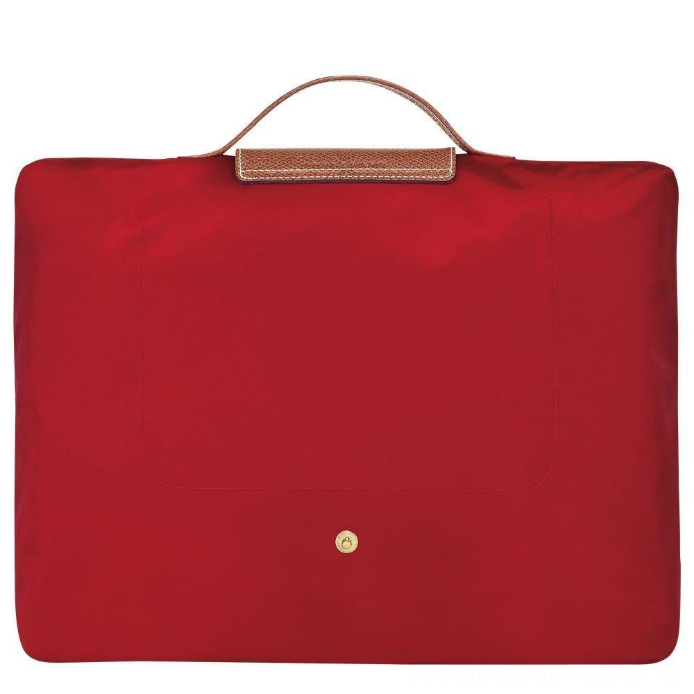 Le Pliage Porte-documents - Rouge Soldes