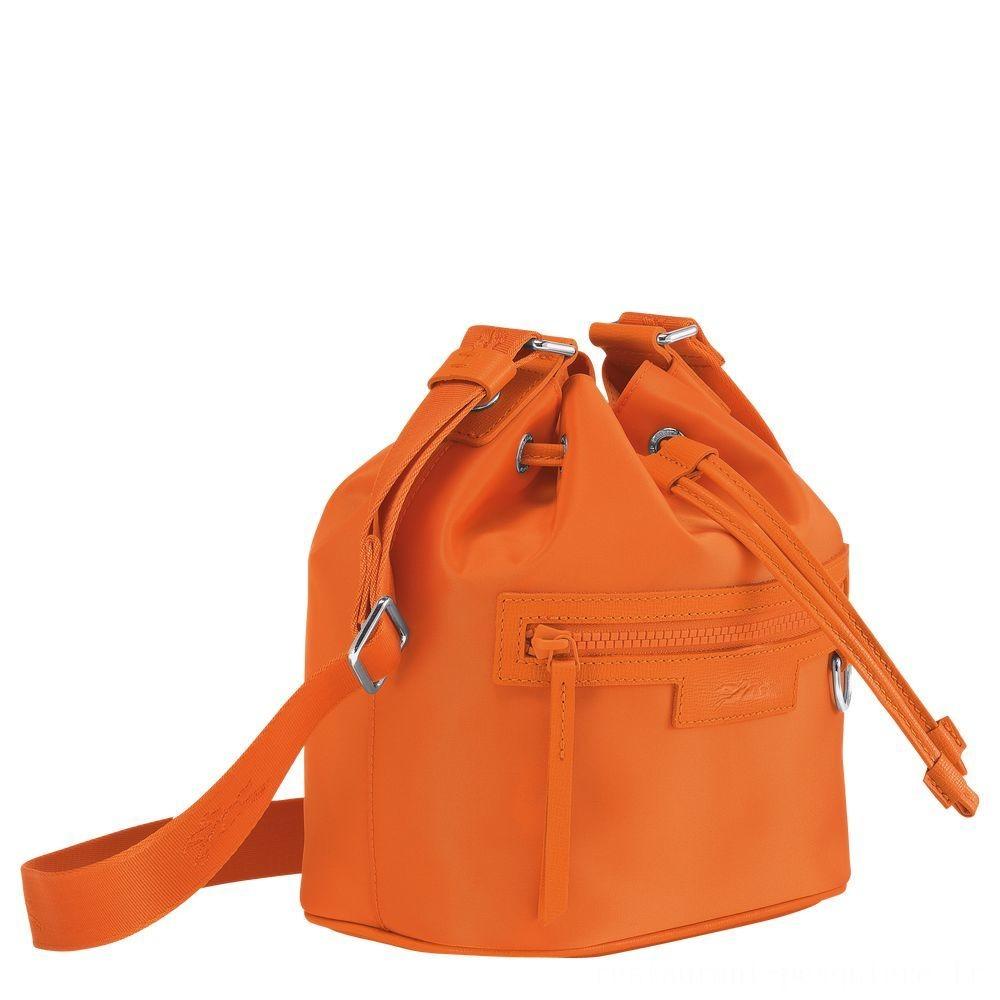 Le Pliage Néo Sac seau S - Orange Soldes