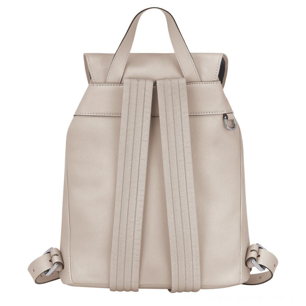[Vente] - Longchamp 3D Sac à dos - Argile
