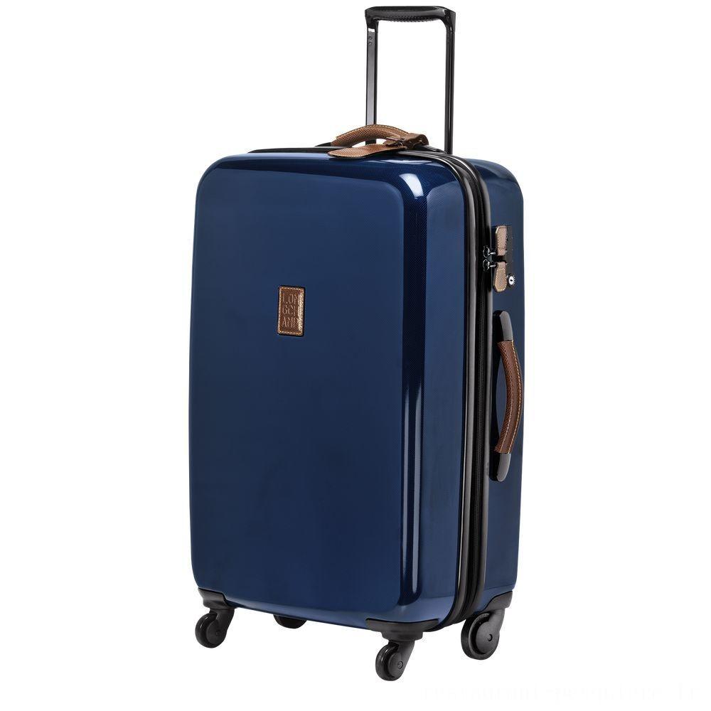 [Soldes] - Boxford Valise à roulettes - Bleu