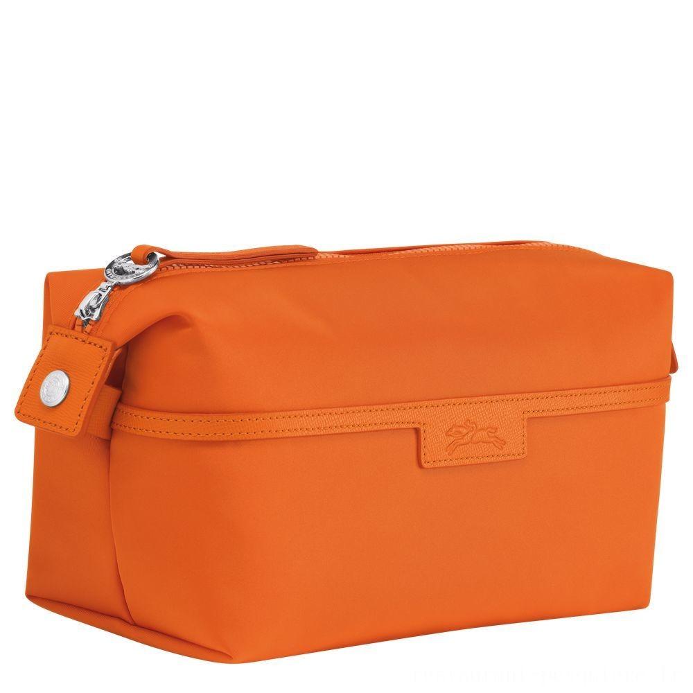 Le Pliage Néo Trousse de toilette - Orange Pas Cher